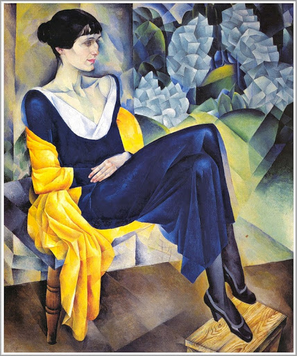 Painting of Anna Achmatova